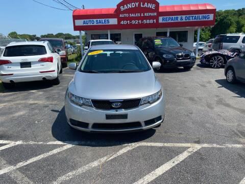 2010 Kia Forte for sale at Sandy Lane Auto Sales and Repair in Warwick RI