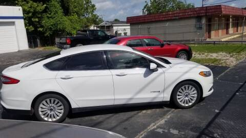2015 Ford Fusion Hybrid for sale at Bill Bailey's Affordable Auto Sales in Lake Charles LA