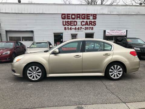 2010 Subaru Legacy for sale at George's Used Cars Inc in Orbisonia PA