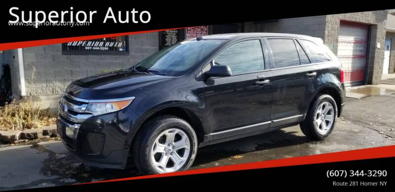 2013 Ford Edge for sale at Superior Auto in Cortland NY