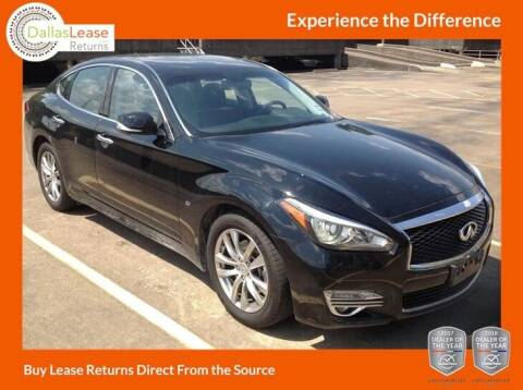 2017 Infiniti Q70 for sale at Dallas Auto Finance in Dallas TX