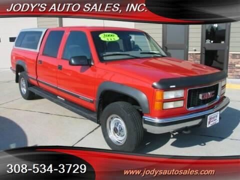 2000 GMC C/K 2500 Series for sale at Jody's Auto Sales in North Platte NE