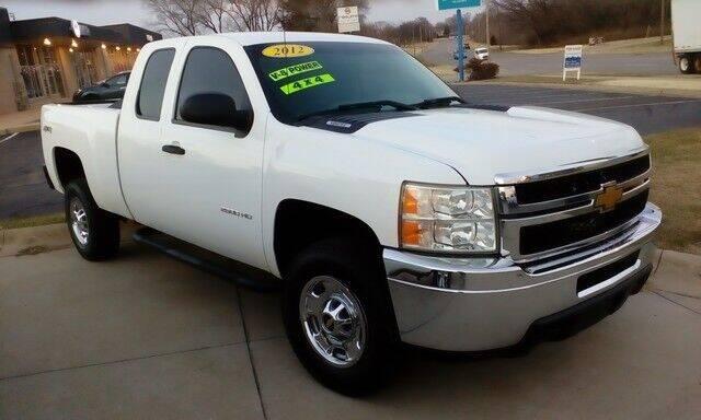 2012 Chevrolet Silverado 2500HD for sale at Jim Clark Auto World in Topeka KS