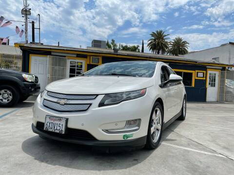 2012 Chevrolet Volt for sale at Good Vibes Auto Sales in North Hollywood CA