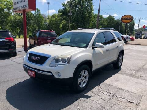 2008 GMC Acadia for sale at Parkside Auto Sales & Service in Pekin IL