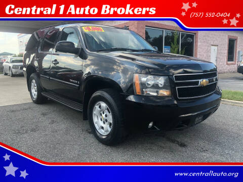 2007 Chevrolet Tahoe for sale at Central 1 Auto Brokers in Virginia Beach VA