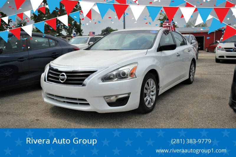 2013 Nissan Altima for sale at Rivera Auto Group in Spring TX