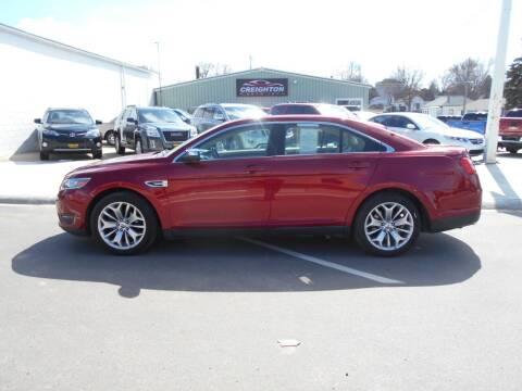 2013 Ford Taurus for sale at Creighton Auto & Body Shop in Creighton NE