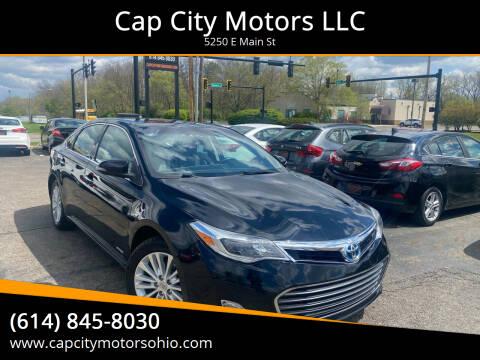 2014 Toyota Avalon Hybrid for sale at Cap City Motors LLC in Columbus OH