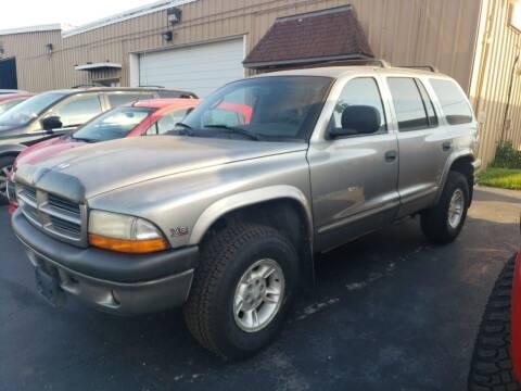 1999 Dodge Durango for sale at Tumbleson Automotive in Kewanee IL