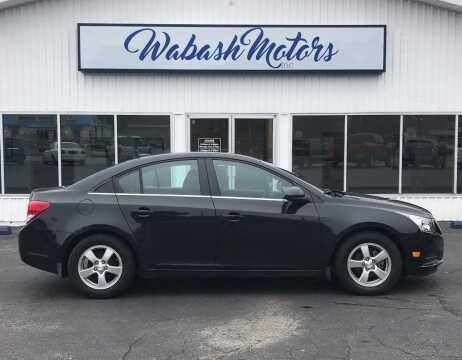 2014 Chevrolet Cruze for sale at Wabash Motors in Terre Haute IN