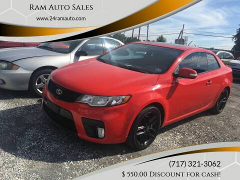 2010 Kia Forte Koup for sale at Ram Auto Sales in Gettysburg PA