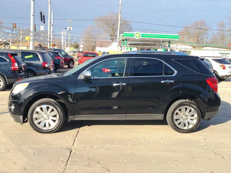 2011 Chevrolet Equinox for sale at Bob Boruff Auto Sales in Kokomo IN