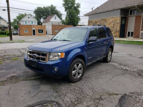 2008 Ford Escape for sale at USA AUTO WHOLESALE LLC in Cleveland OH
