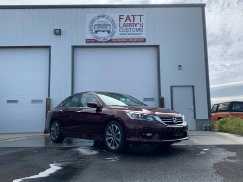 2015 Honda Accord for sale at Fatt Larry's Customs in Sugar City ID