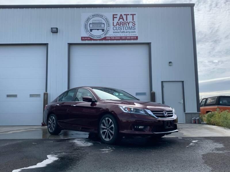 2015 Honda Accord for sale at Fatt Larry's Customs in Sugar City ID