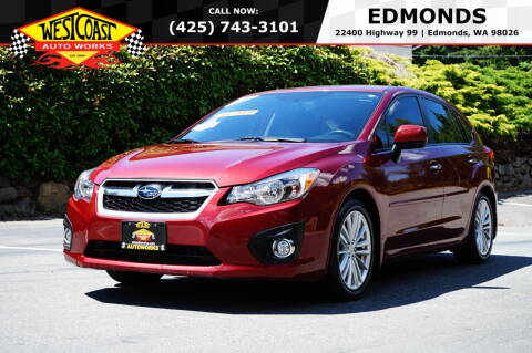 2014 Subaru Impreza for sale at West Coast Auto Works in Edmonds WA