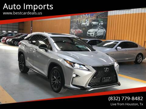 2016 Lexus RX 350 for sale at Auto Imports in Houston TX
