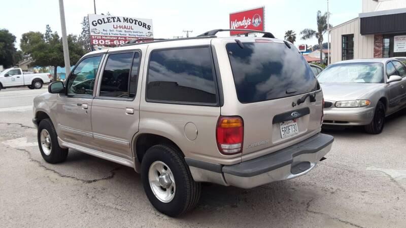 1998 Ford Explorer for sale at Goleta Motors in Goleta CA