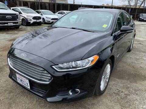 2016 Ford Fusion Energi for sale at CENTURY MOTORS - Fresno in Fresno CA