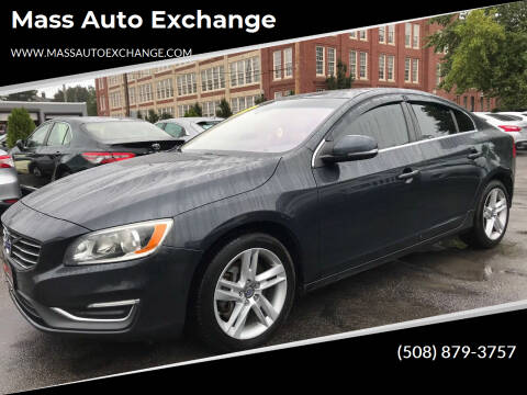 2014 Volvo S60 for sale at Mass Auto Exchange in Framingham MA