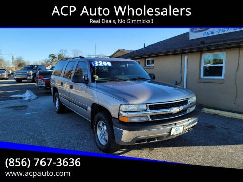 2001 Chevrolet Suburban for sale at ACP Auto Wholesalers in Berlin NJ