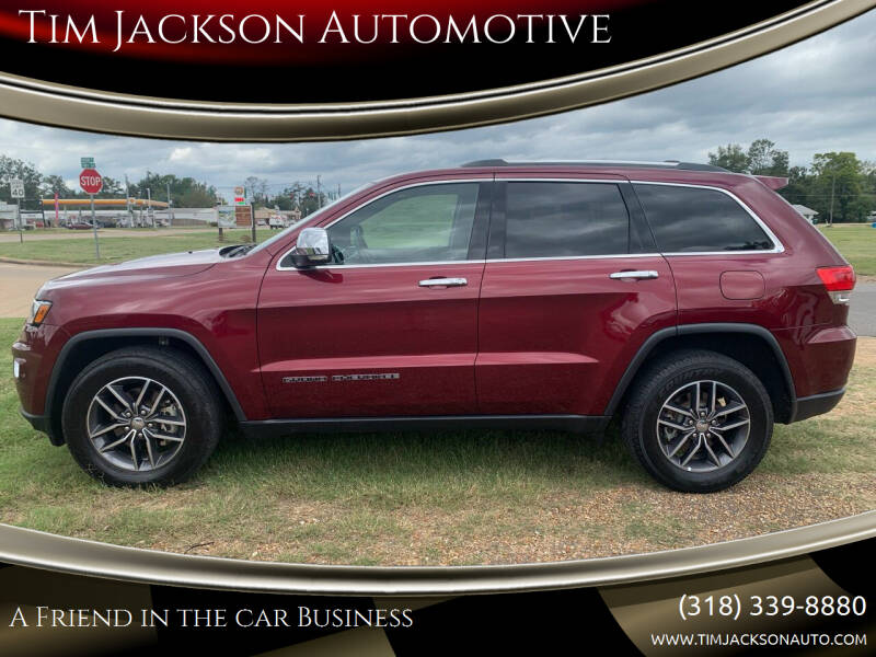 2018 Jeep Grand Cherokee for sale at Tim Jackson Automotive in Jonesville LA