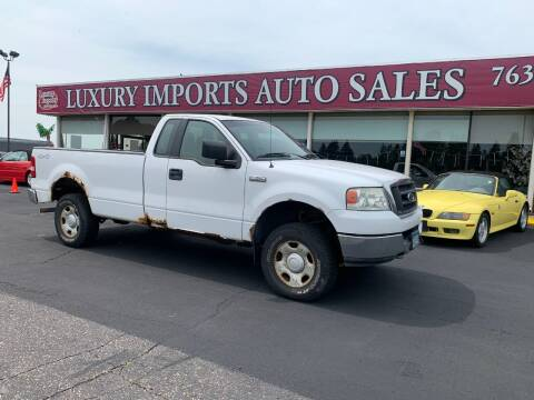 2005 Ford F-150 for sale at LUXURY IMPORTS AUTO SALES INC in North Branch MN