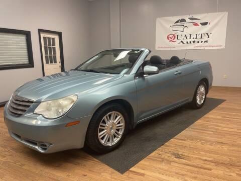 2009 Chrysler Sebring for sale at Quality Autos in Marietta GA