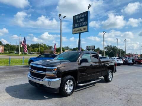 2018 Chevrolet Silverado 1500 for sale at Michaels Autos in Orlando FL
