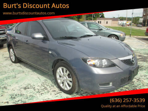2008 Mazda MAZDA3 for sale at Burt's Discount Autos in Pacific MO