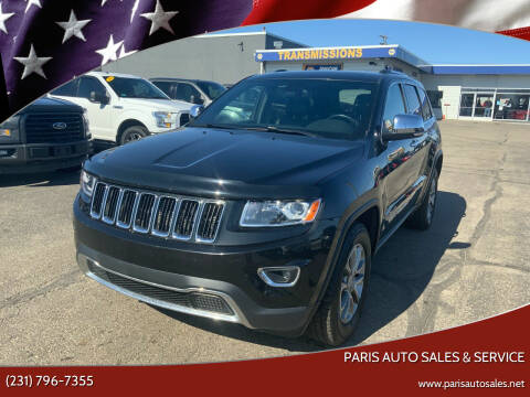 2015 Jeep Grand Cherokee for sale at Paris Auto Sales & Service in Big Rapids MI