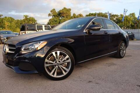 2018 Mercedes-Benz C-Class for sale at OCEAN AUTO SALES in Miami FL