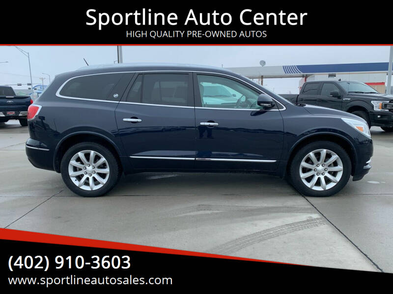 2017 Buick Enclave for sale at Sportline Auto Center in Columbus NE