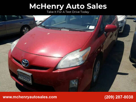 2010 Toyota Prius for sale at McHenry Auto Sales in Modesto CA