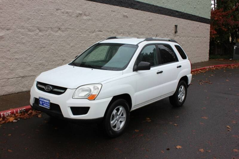 2009 Kia Sportage for sale at Al Hutchinson Auto Center in Corvallis OR