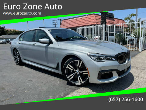 2016 BMW 7 Series for sale at Euro Zone Auto in Stanton CA