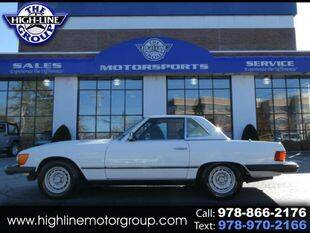 1982 Mercedes-Benz 380-Class for sale at Highline Group Motorsports in Lowell MA