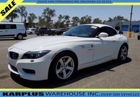 2009 BMW Z4 for sale at Karplus Warehouse in Pacoima CA