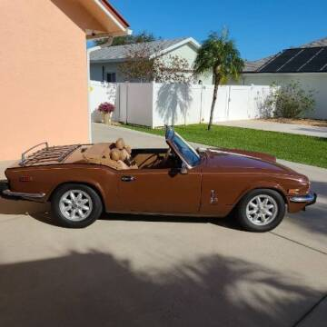 1978 Triumph Spitfire for sale at Classic Car Deals in Cadillac MI