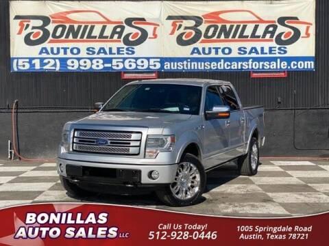 2013 Ford F-150 for sale at Bonillas Auto Sales in Austin TX