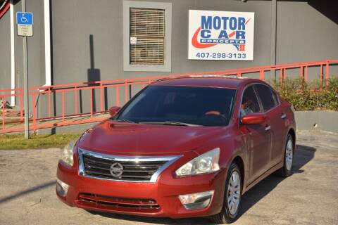 2014 Nissan Altima for sale at Motor Car Concepts II - Apopka Location in Apopka FL