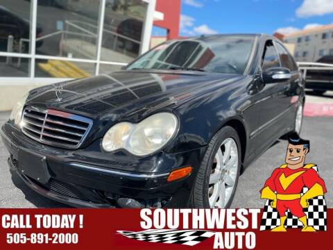 2007 Mercedes-Benz C-Class for sale at SOUTHWEST AUTO in Albuquerque NM