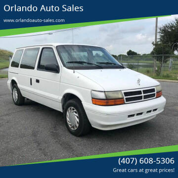 1995 Dodge Caravan for sale at Orlando Auto Sales Recycling in Orlando FL