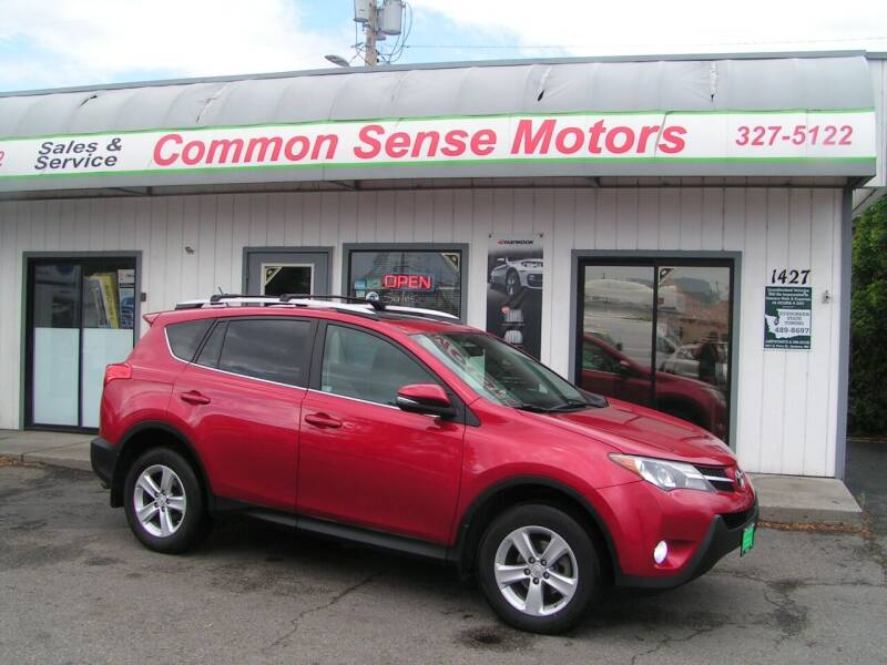 2013 Toyota RAV4 for sale at Common Sense Motors in Spokane WA