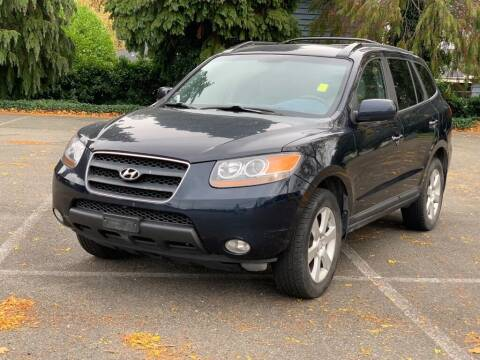 2008 Hyundai Santa Fe for sale at Q Motors in Lakewood WA