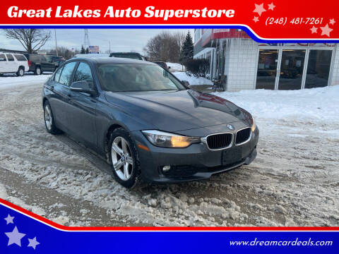 2013 BMW 3 Series for sale at Great Lakes Auto Superstore in Pontiac MI