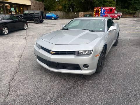 2015 Chevrolet Camaro for sale at BRAVA AUTO BROKERS LLC in Clarkston GA