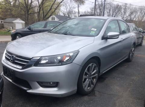 2013 Honda Accord for sale at Top Line Import in Haverhill MA