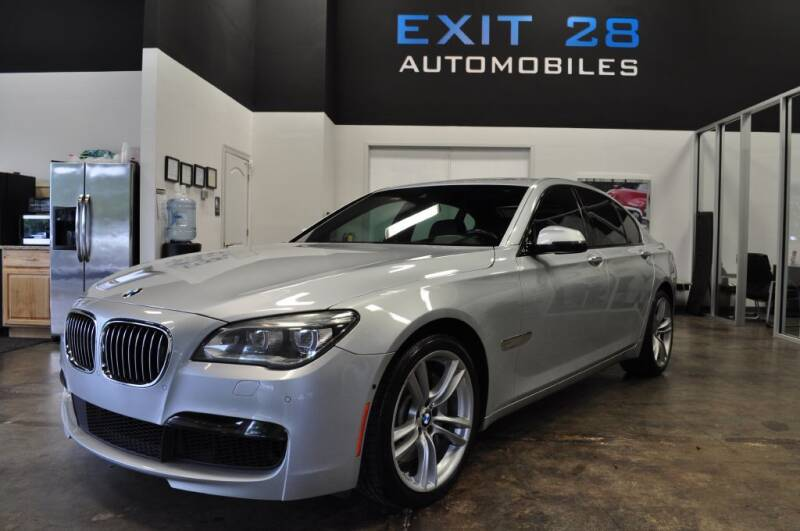 2015 BMW 7 Series for sale at Exit 28 Auto Center LLC in Cornelius NC